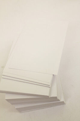 1000 A6 CARDS 250gsm SHEETS PLAIN WHITE Craft Card 250gsm Cards 105mm x 148mm