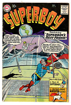 Superboy #77 5.0 Off-White To White Pages Silver Age Superman