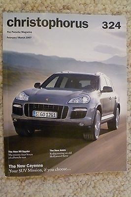 Porsche Christophorus Magazine English #324 February 2007 RARE!! Awesome L@@K