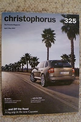 Porsche Christophorus Magazine English #325 April / May 2007 RARE!! Awesome L@@K