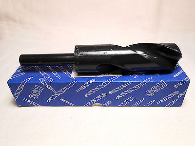 """1-3/16"""" High Speed Steel Drill Silver & Deming 1/2"""" Reduced Shank 6"""" Overall NEW"""
