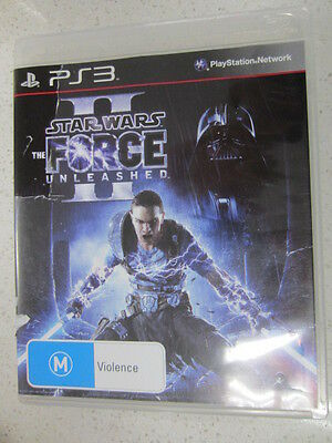Star Wars the Force Unleashed II PS3 Game USED (By Sold out)