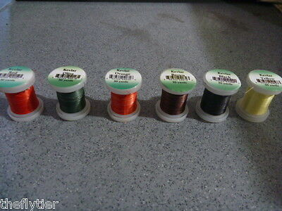 KEVLAR THREAD 50 Yd Spool  Fly Tying ....1 spool / quantities & colors available