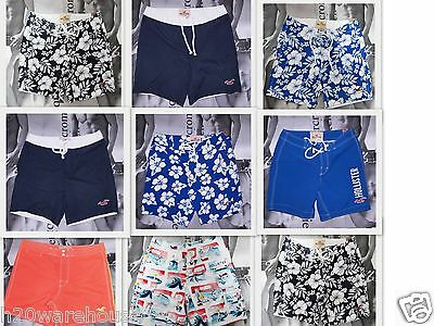 HOLLISTER HCO LOT of 9 Men's Swim Short By Abercrombie