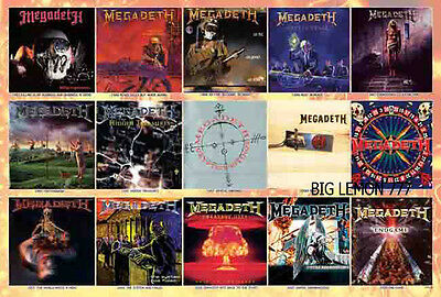 "MEGADETH Group Music Paper Poster # 2 23.4""x34.5"""