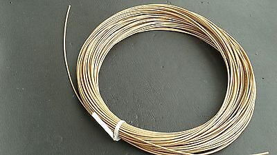 THERMAX   RG178 Teflon Silver Plated Coax Cable MIL-C-17 M17/93 RG-178  100 FT
