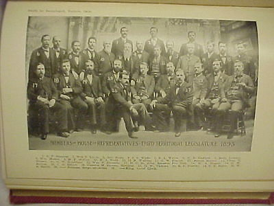 Oklahoma Red Book 1912 Indian Treaties Patents