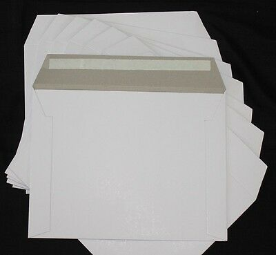 100 150x150mm 400gsm Hard Cardboard Envelopes Mailers Semi Rigid CD DVD Envelope