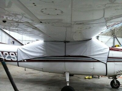 Cessna 206 windshield cabin cover made from Sur Last