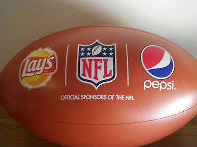 (2) PEPSI & LAYS NFL FOOTBALL ADVERTISING DISPLAY - INFLATABLE/ CEILING HANGING