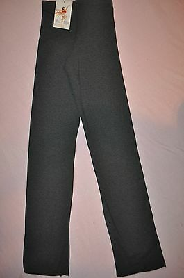 NWT Bal Togs adult size small  - Charcoal Straight leg Jazz Pants- # 326
