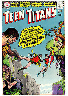Teen Titans #2 5.5 Off-White Pages Silver Age Robin