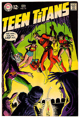 Teen Titans #19 8.0 Off-White To White Pages Silver Age Robin