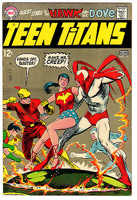 Teen Titans #21 7.5 Off-White To White Pages Silver Age Robin Neal Adams