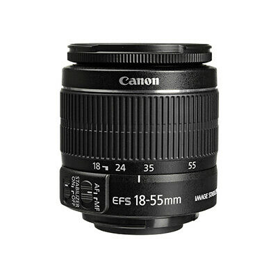 Canon EF-S 18-55mm f/3.5-5.6 IS II Autofocus Lens BRAND NEW USA
