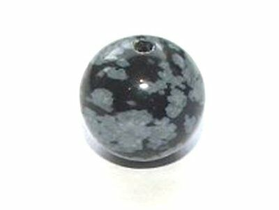 Snowflake Obsidian Gemstone Jewellery Craft Beads Gem Stones - Various Sizes