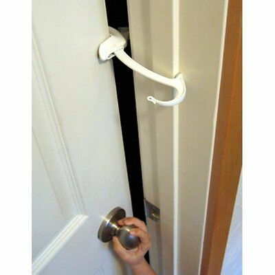 Childproof Door Lock Pinch Guard Security Safety Baby Infant Toddler