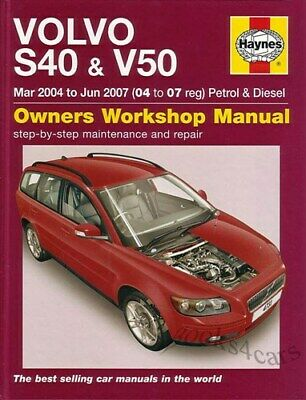 volvo s40 v40 shop manual service repair workshop book haynes rh picclick com volvo s40 v40 owners manual 2000 volvo s40 and v40 service and repair manual pdf