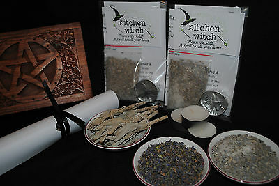 """HOUSE BE SOLD"" Spell Kit Sell My House Home Property Sale Selling White Witch"
