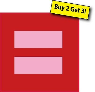Human Rights Marriage Equality Vinyl Decal Sticker Gay Rights LGBT FLG76