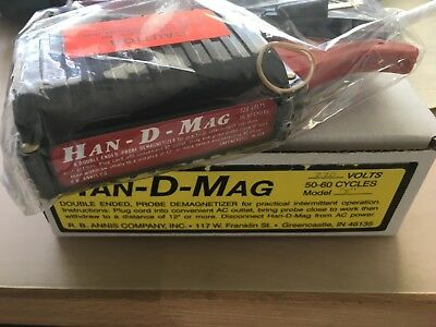 HAN-D-MAG international studio tape head demagnetizer 115 or 220 volt, BRAND NEW