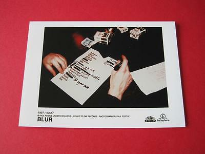 -  BLUR DAMON ALBARN  - small 7x5 inch PROMO press photo #563