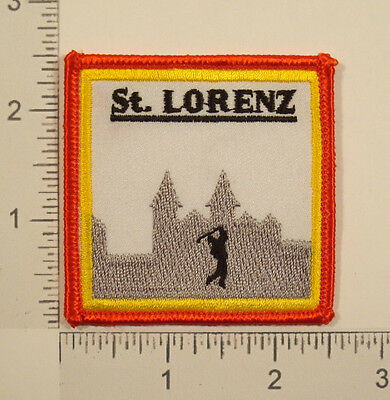 St. LORENZ Germany GOLF Embroidered PATCH
