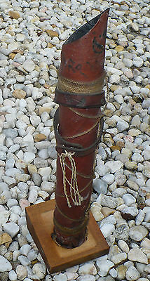 Antique ? Vintage ? Indian Native American Bow & Arrow Holder