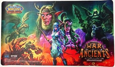 ☺ Wow Tcg Nuovo Playmat Epic Collection War Of The Ancients