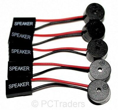 5x BIOS Motherboard POST Speaker Sounder Buzzer - FREE UK P&P