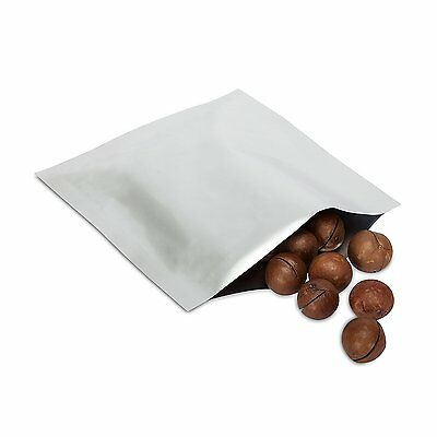 6cm x 8cm - Heat Seal Aluminium Foil Bags / Pouches Smell Proof with tear notch