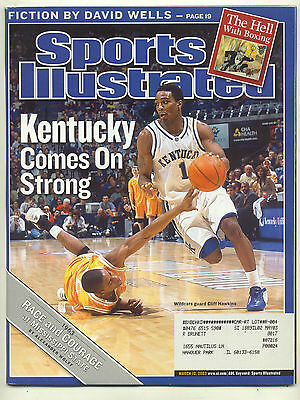 March 10 2003 Cliff Hawkins Kentucky College Basketball Sports Illustrated OLD