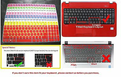 "Keyboard Skin Cover for HP Pavilion TouchSmart Sleekbook 15 15z series 15.6"" #29"