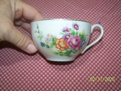 MADE IN OCCUPIED JAPAN FLORAL TEA CUP