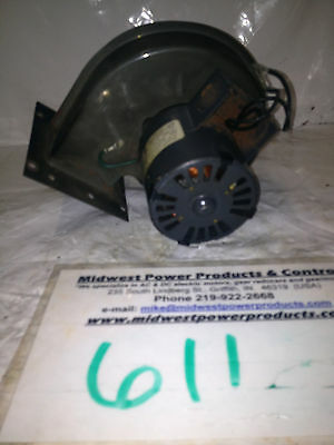Dayton motor with blower 3M777, 1/30hp, 3000rpm, 115V, TENV, 1 phase, 7121-4887