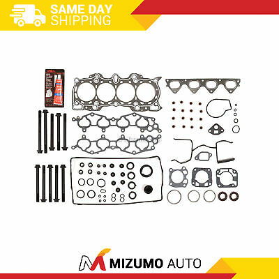 Graphite Head Gasket Bolts Set Fit 90-01 Acura Integra LS RS GS 1.8 B18A1 B18B1