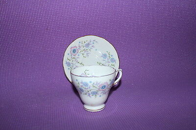 Avon Blue Blossoms cup and saucer
