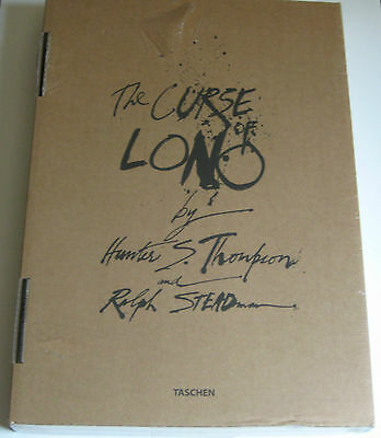 HUNTER S. THOMPSON, RALPH STEADMAN The Curse of Lono SIGNED x 2 LIMITED EDITION