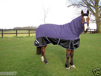 GEE TAC HORSE TURNOUT COMBO RUG  HEAVY WEIGHT 1200D SUPER THICK OUTER* 350 gram
