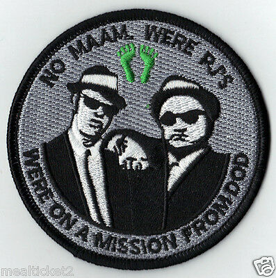 USAF PARARECUE NO MAAM, WERE' PJ'S BLUES BROTHERS USAF SAR COMBAT RESCUE PATCH