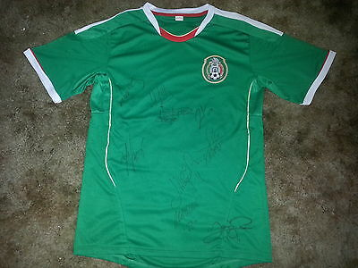 Mexico National Team Signed 2013 Soccer Replica Jersey
