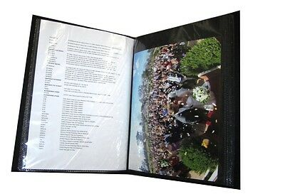 A4 Photo Album holds up to 36 A4 Pages