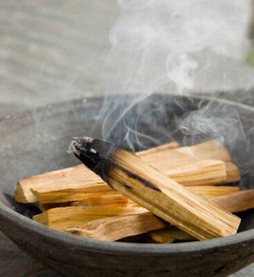 6 x REAL PALO SANTO HOLY WOOD (30gm) SACRED TREE SMUDGE STICKS INCENSE CLEANSE