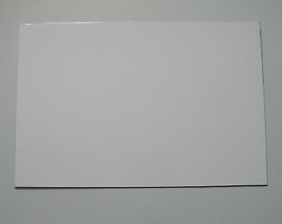 White 3 Ply Blank Pickguard Scratch Plate Material Sheet 290x430(mm)