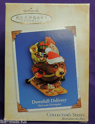 Downhill Delivery ~ #1 in series Nick & Christopher ~ 2004 ~ Hallmark ~MIB