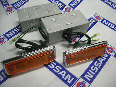 DATSUN 1200 Side Flasher Lamp Ass'y Genuine (Fits NISSAN B110 B120 Ute Sunny)