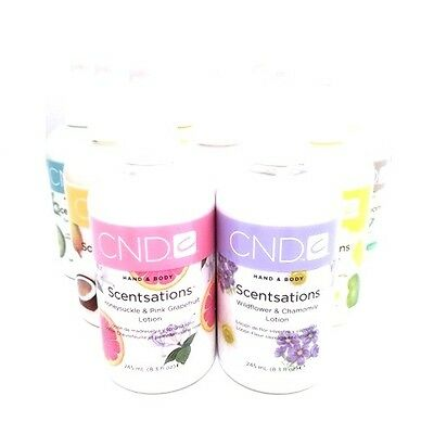 CND - Scentsations Lotion & Wash - 2oz or 8.3oz - Choose From Any Scent