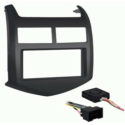 Metra 99-3012G-LC 1/2 DIN Dash Kit for 2012-Up Chevy Sonic