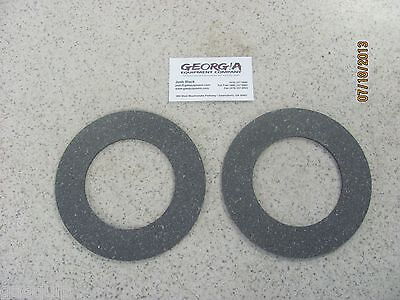 "2-Slip Clutch Disc/ Clutch Lining- 5.91""x 3.58""- Fits Several Different Shafts"