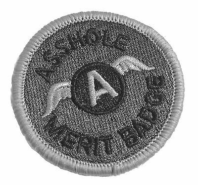 2 inch Swat a-hole Merit Badge Tactical Morale military Patch